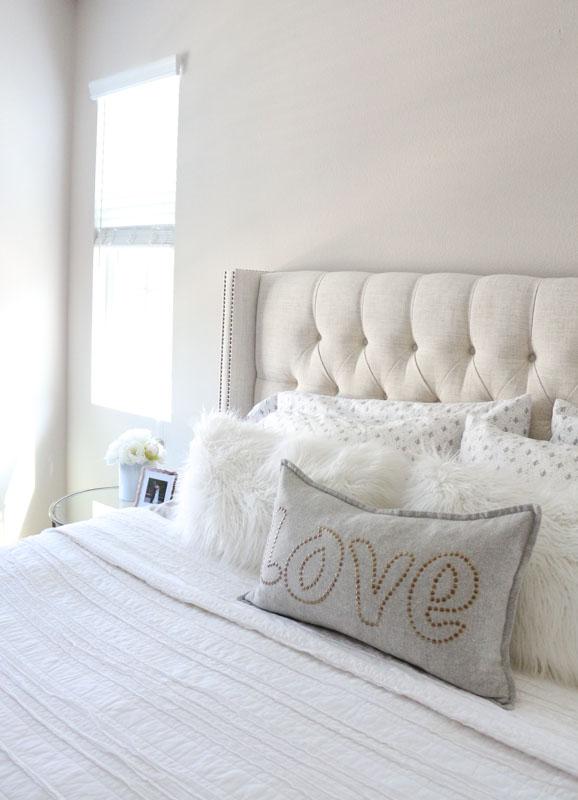 Master Bedroom Refresh: Upholstered Headboard Update