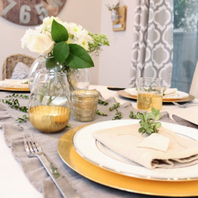 Tips for Creating a Modern Farmhouse Tablescape