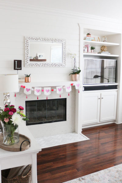 Modern and Simple Valentine's Day Decor