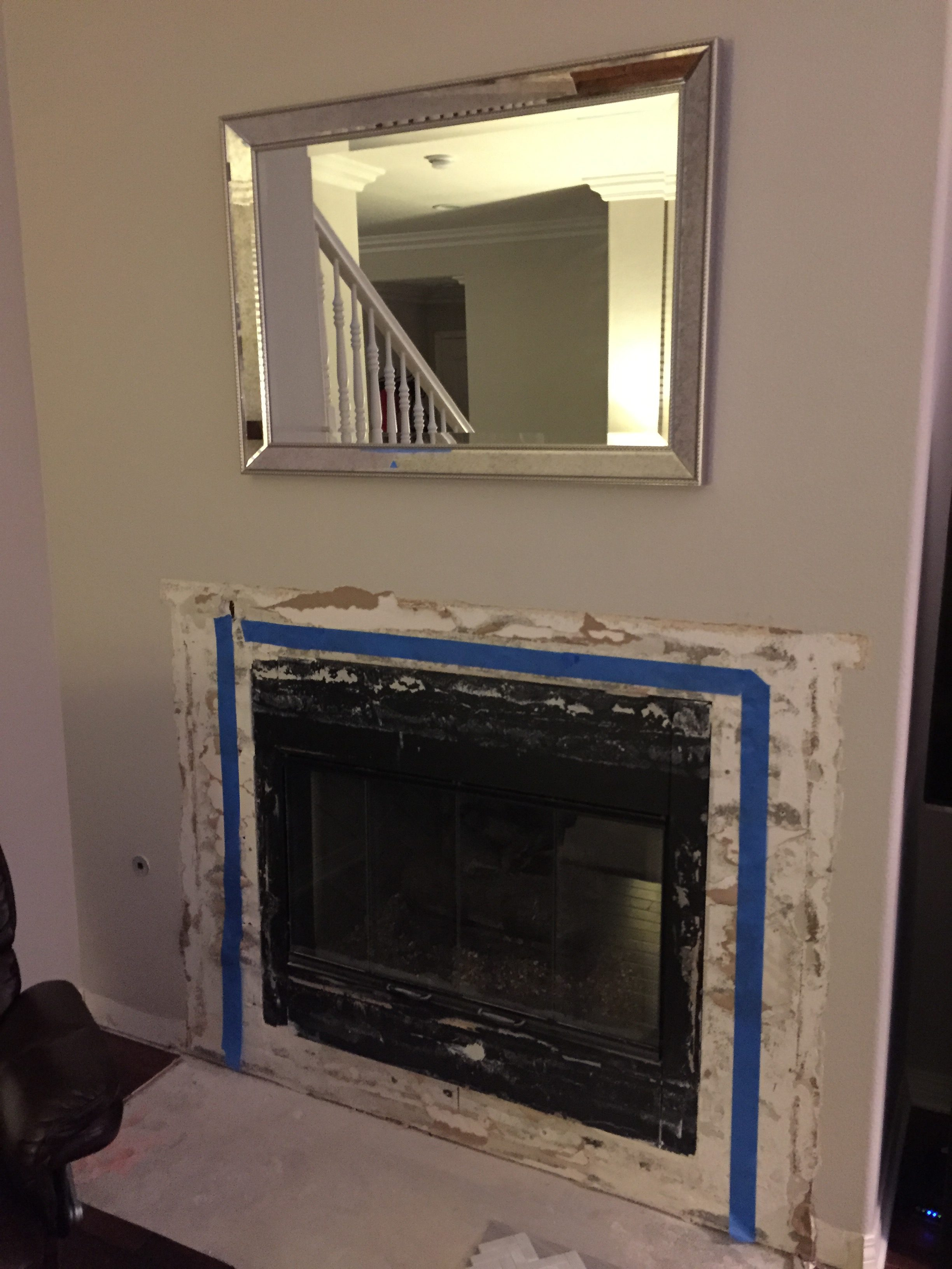 Tips for Designing and Renovating a Tract Home Fireplace and Media ...