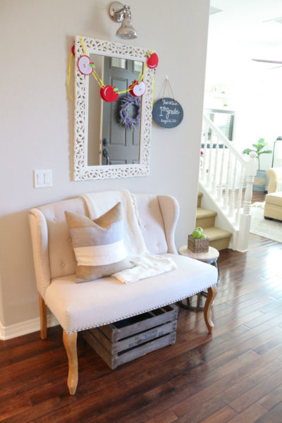 Creating a Back to School Vignette