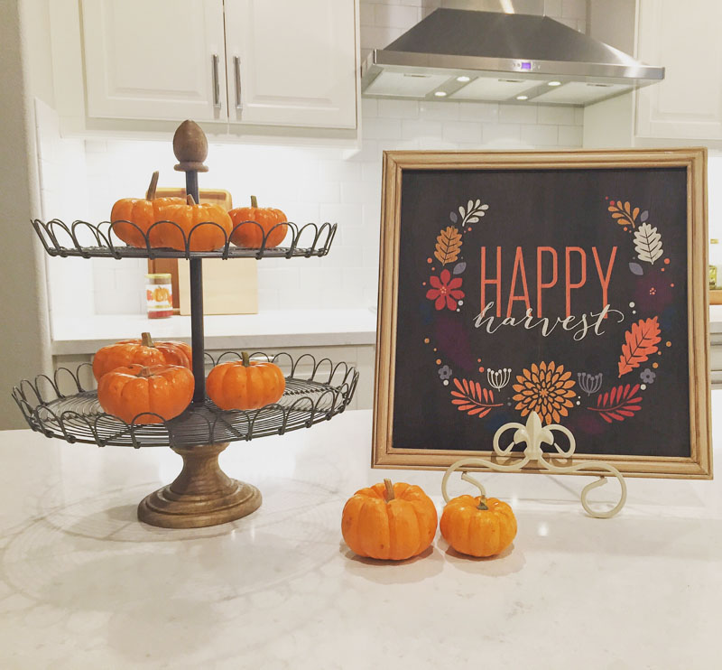 Farmhouse Kitchen Fall Decorating Ideas: 5 Ways To Add Fall Decor To Your Home