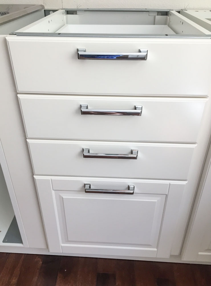 Tip #2: Upgrade Your Cabinet Hardware
