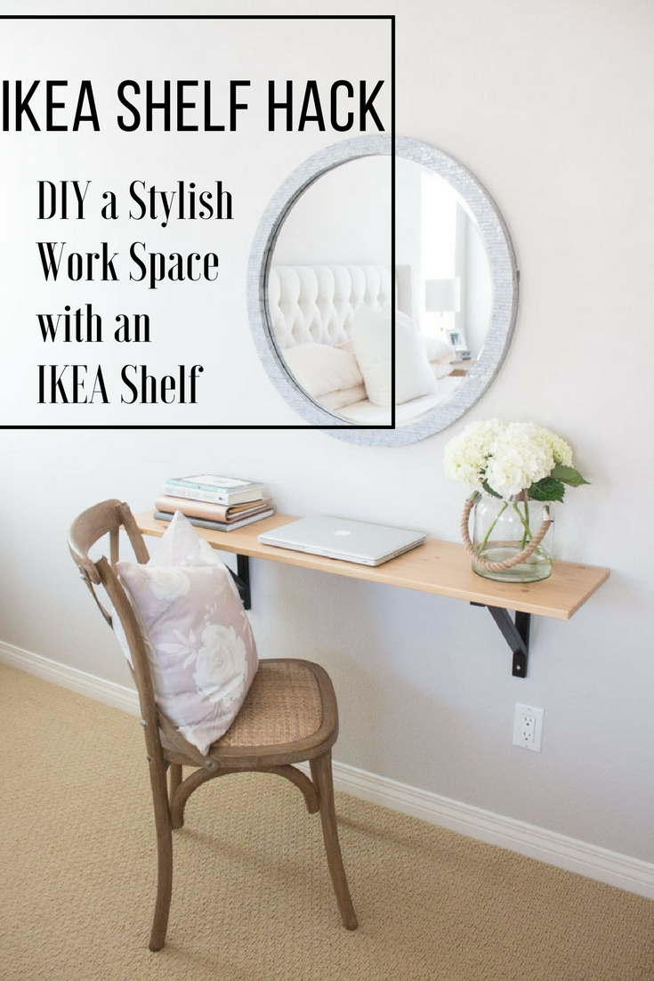 IKEA shelf hack diy 1111 lightlane