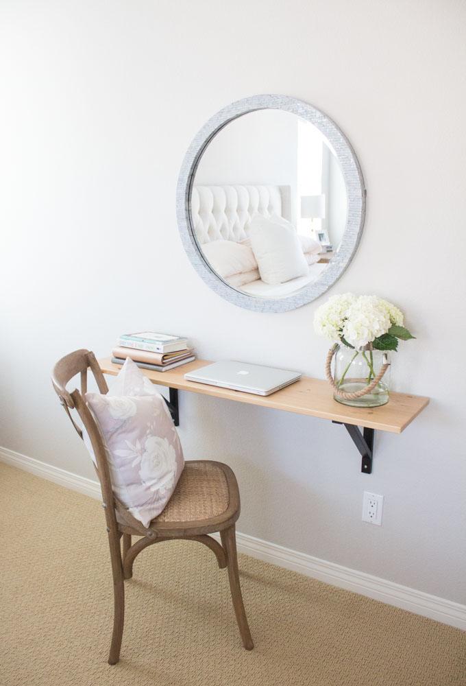 IKEA Shelf Hack: How to DIY a Stylish Work Space with an IKEA Shelf