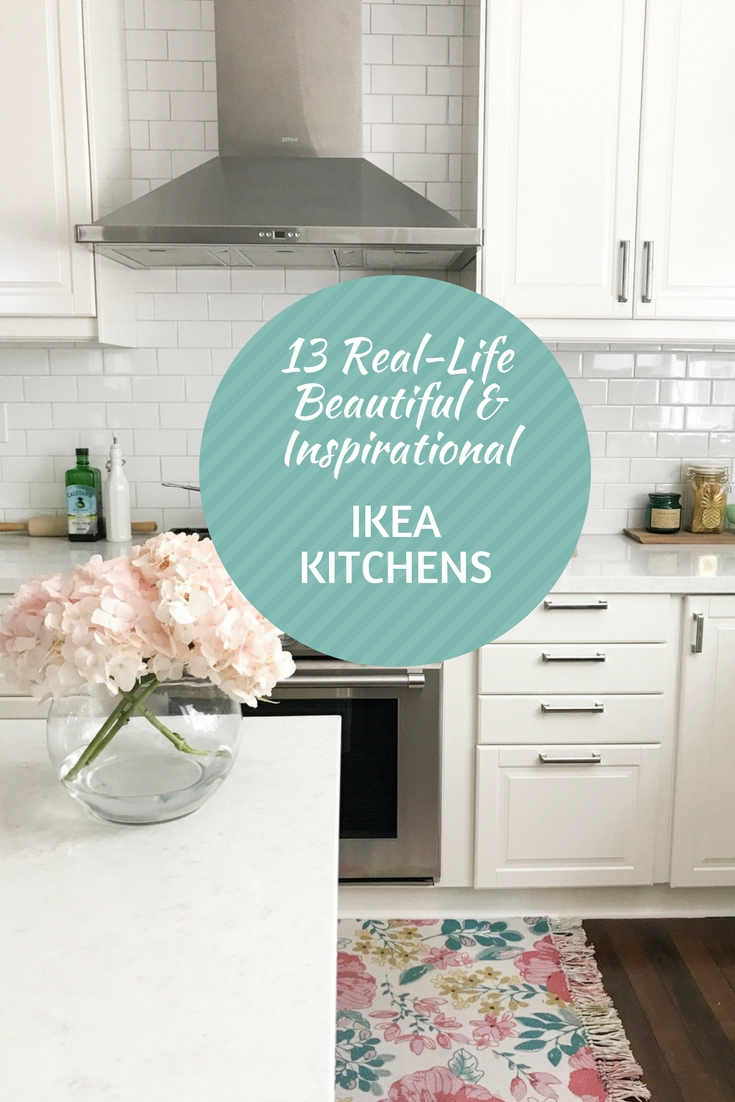 13 Real-Life Beautiful and Inspirational IKEA Kitchens - Light Lane