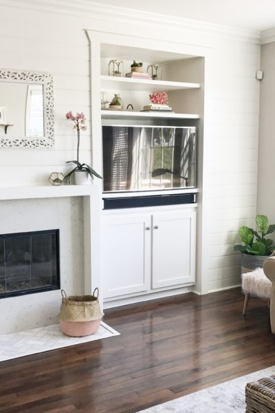 Tips for Designing and Renovating a Tract Home Fireplace and Media Niche