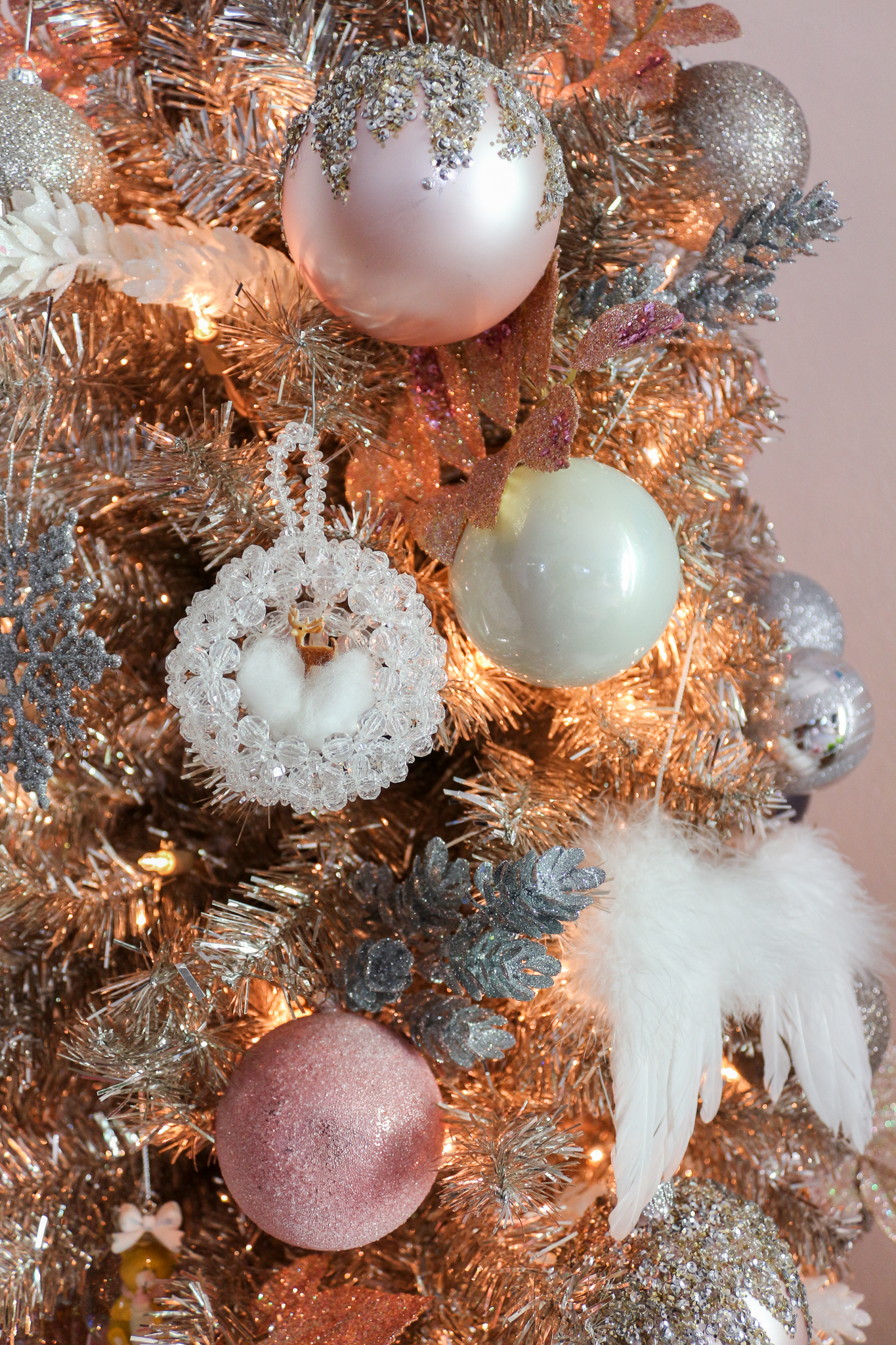 that wraps up our blush pink rose gold christmas tour i hope i shared a realistic way to update your holiday decor each year while also realizing that