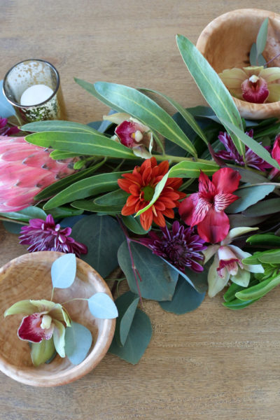DIY Eucalyptus Flower Garland