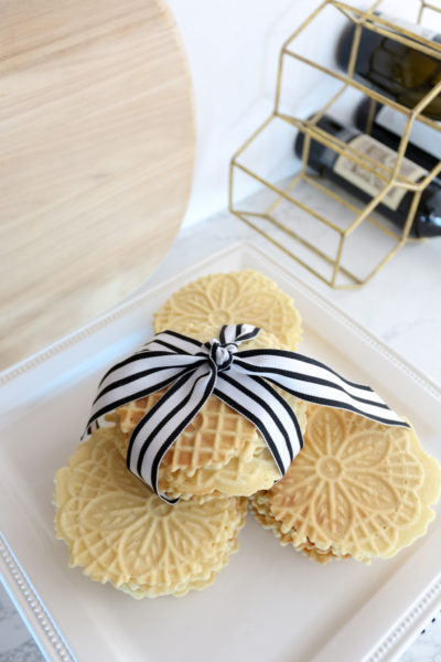 Delicious and Pretty Pizzelles for the Holidays