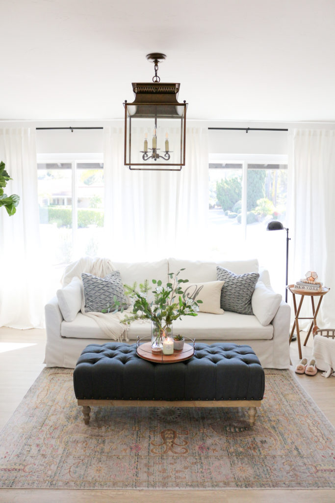 cozy hygge modern farmhouse style living room. Black Bedroom Furniture Sets. Home Design Ideas