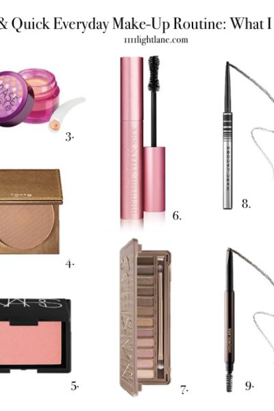 Quick + Easy Makeup and Beauty Routine for Every Girl