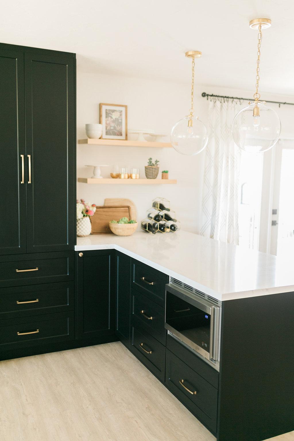 Classic Black Bright And Light Ikea Semihandmade Kitchen