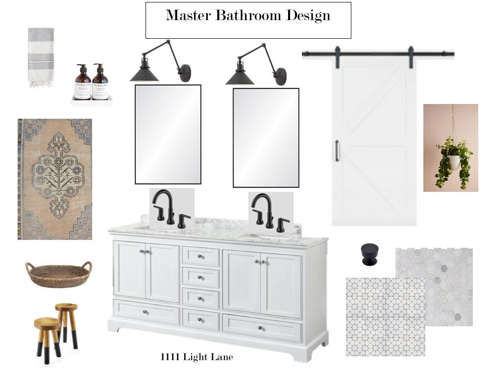 Modern Farmhouse Master Bathroom, Farmhouse Faucet Bathroom