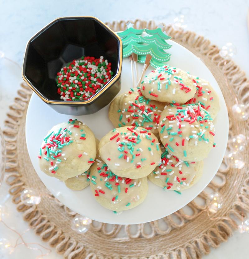 Grandma S Italian Drop Cookies