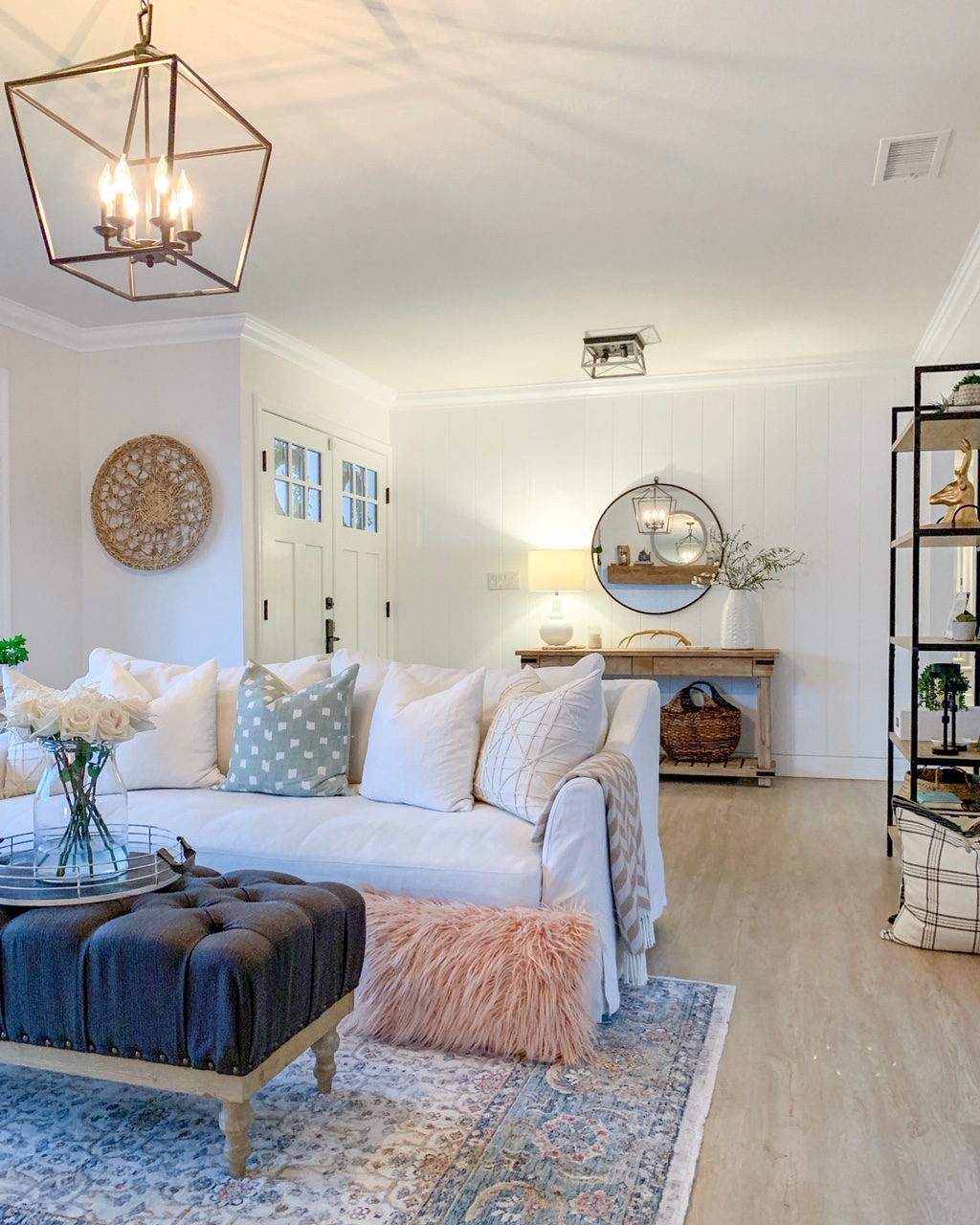 My Light And Airy Living Room Transformation: Bright + Airy Living Room Refresh: Top 5 FAQ's Answered
