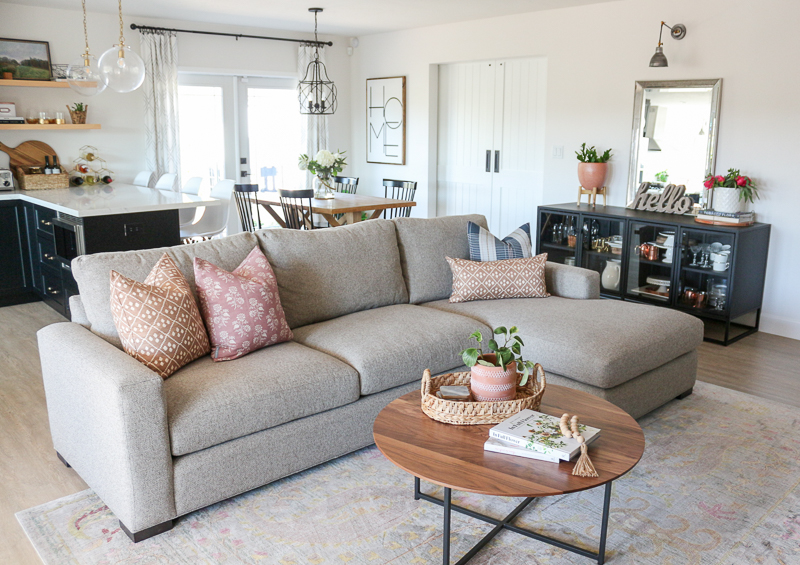 Awe Inspiring Family Room Refresh With Room Board Metro Sofa Review Creativecarmelina Interior Chair Design Creativecarmelinacom