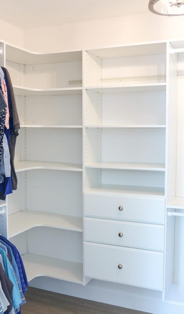 Diy Custom Walk In Closet Affordable Easy To Install 1111 Light Lane