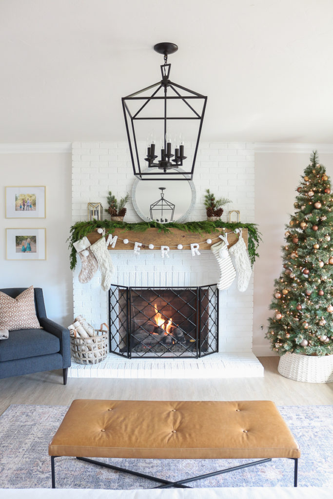 Modern Holiday Living Room Tour With Room Board 1111 Light Lane